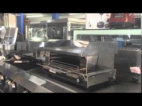 Commercial Electric Salamander Grill Combo