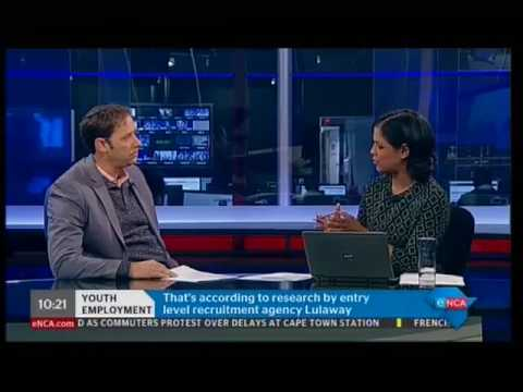 30% of young people will quit their jobs within 3 months of employment | Lulaway on eNCA