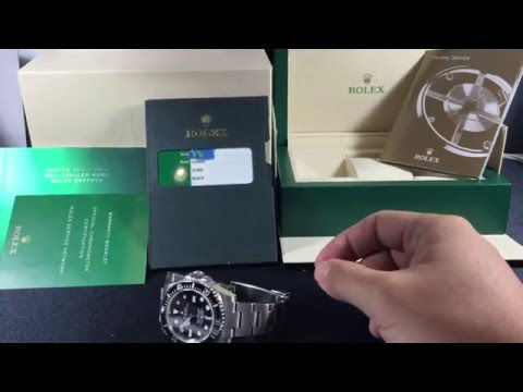 Rolex: Buying used or Pre-owned things to look for.. Part 1