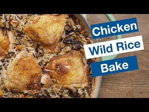 Chicken with White and Wild Rice Casserole | | Le Gourmet TV Recipes