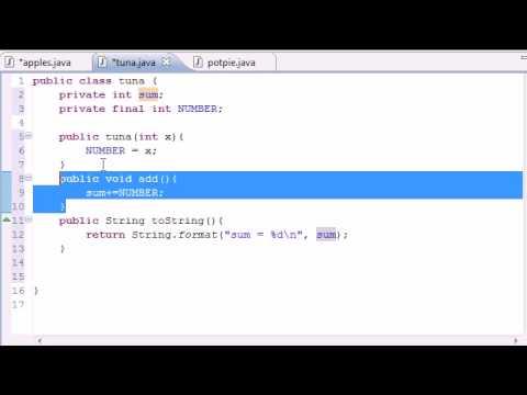 Java Programming Tutorial - 48 - final