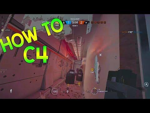 HOW TO C4 - Rainbow Six Siege