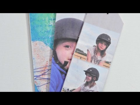 How To Make Fun Photo Bookmarks - DIY Crafts Tutorial - Guidecentral