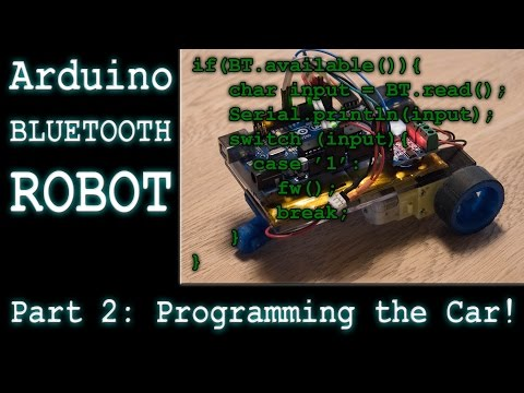 Making a DIY Arduino RC Robot Car - Part 2: Programming - Ec-Projects