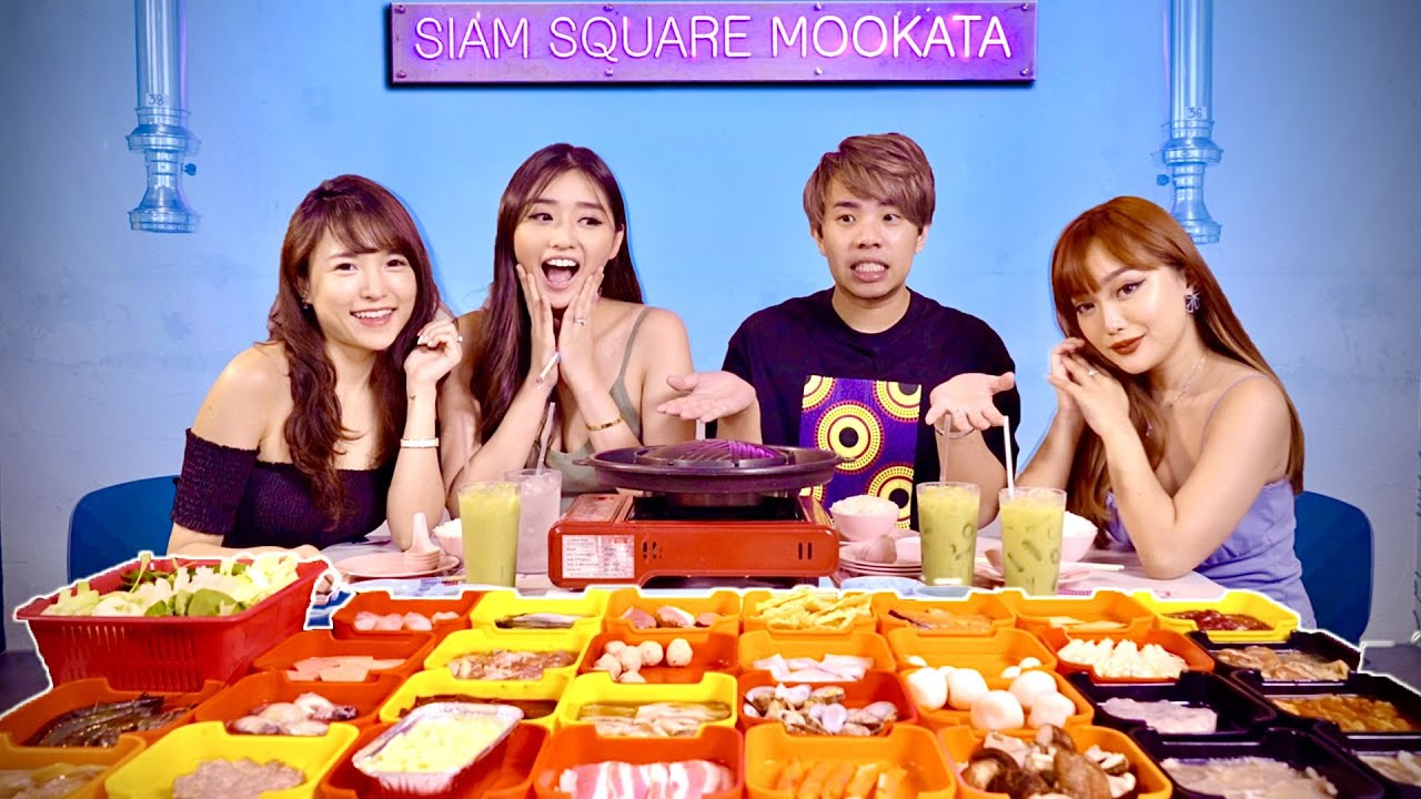 We Tried EVERYTHING at this Thai Steamboat (Mookata)