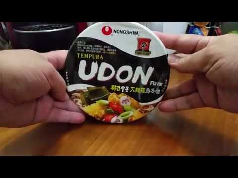 Nong Shim ( China ) : Tempura Udon Flavor Instant Bowl Noodles