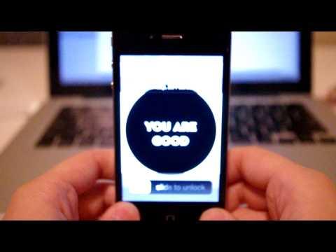 Iphone 4 LED light won't turn off