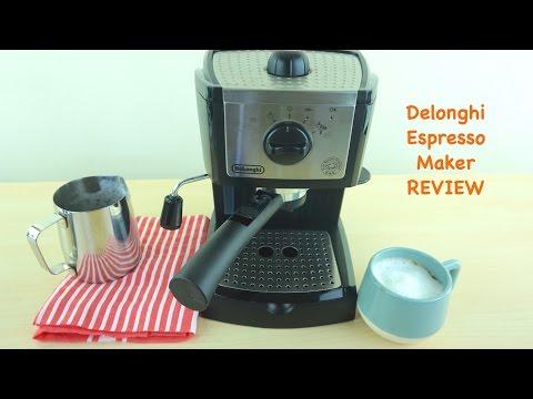 Delonghi EC155 Pump Espresso and Cappuccino Maker Review