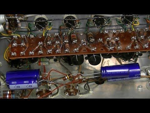 McIntosh MC240 tube amplifier test & repair w scientific method, 1/2