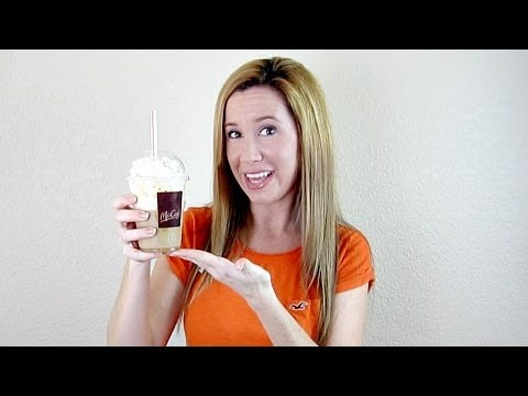 HOW TO MAKE A MCDONALDS FRAPPE