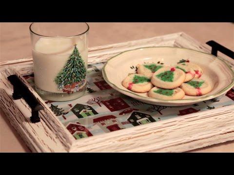 DIY Santa Cookie Tray