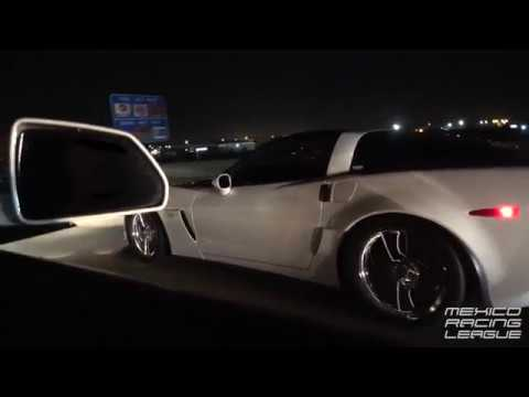 CTS-V takes on C6 Z06 and Cobra!