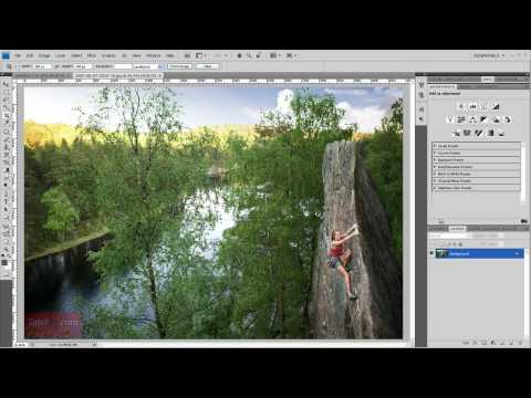 How to Crop an Image - Adobe Photoshop [60 Seconds]