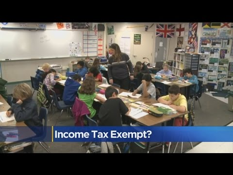 California Considered Removing Income Tax For Teachers