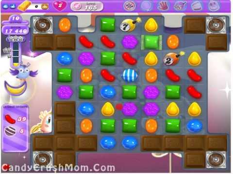 Candy Crush Dreamworld Level 165  Walkthrough Video & Cheats