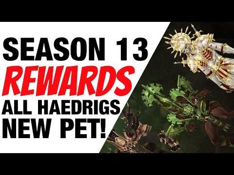 Diablo 3 Season 13 Rewards New Pet, Haedrigs and Portrait