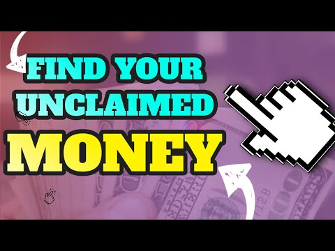 HOW TO FIND UNCLAIMED MONEY FOR FREE OWED TO YOU  2017 TUTORIAL