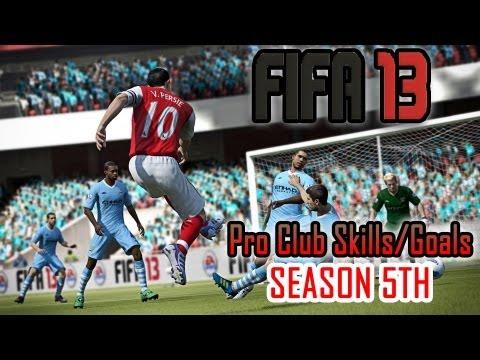 FIFA 13 Pro Club Season 5 Skills/Goals