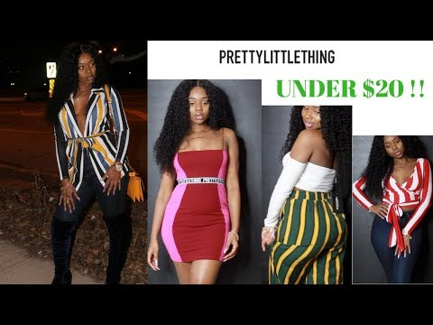 EVERYTHING UNDER $20 | Pretty Little Thing Try-On Haul | Chev B