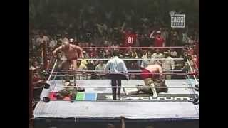 Sgt. Slaughter & JunkYard Dog vs Iron Sheik & Nikolai Volkoff