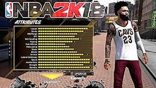 MOST SLEPT ON PLAYER BUILD IN NBA 2K18 !