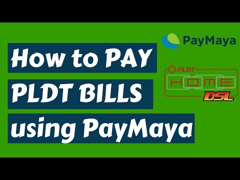 How to Pay PLDT Bills using Paymaya