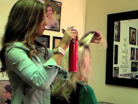 How to Tease Pageant Hair