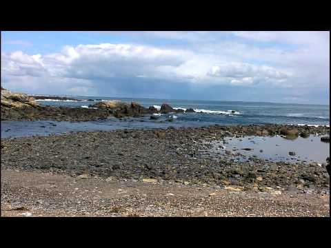 Rocky Beach Looping Video Wallpaper - Perkins Cove Maine