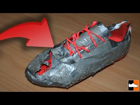 DUCT TAPE Football Boots! Best Touch Ever??