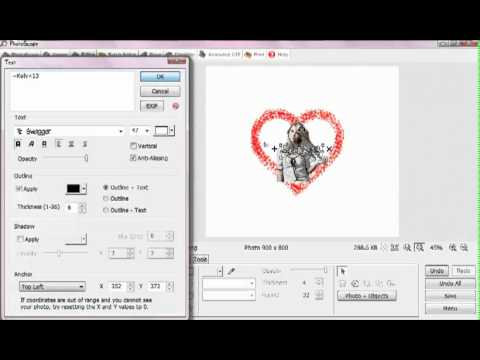 How To Make a PNG Logo In Photoscape