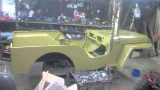 4 19 MB] Download mitsubishi jeep J58 restoration Mp3