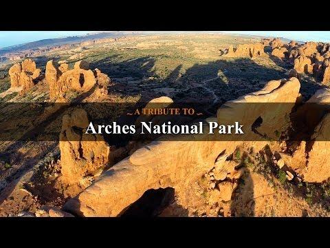 Arches National Park (DJI Phantom + GoPro HERO3+)
