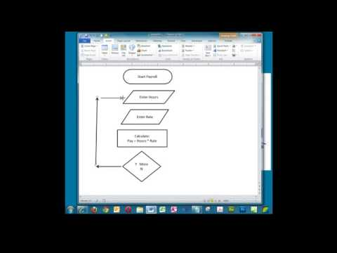 Creating a Simple Flowchart in Microsoft Word