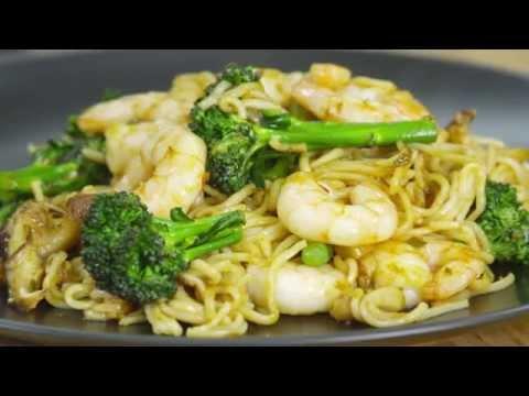 Lo Mein Prawn Stir Fry Recipe: Amoy
