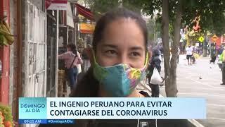 Domingo al Día: Ingenio peruano para evitar contagiarse de COVID-19