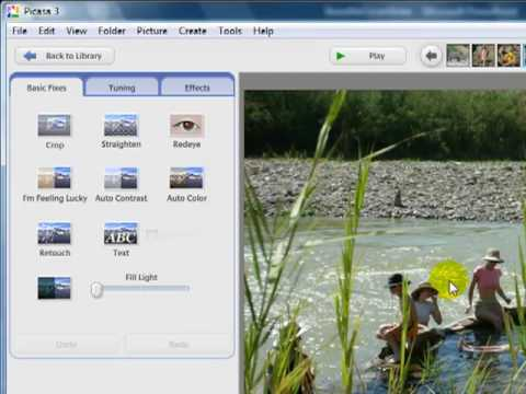 Picasa 3 Tutorial Video by GeeksOnTour.com