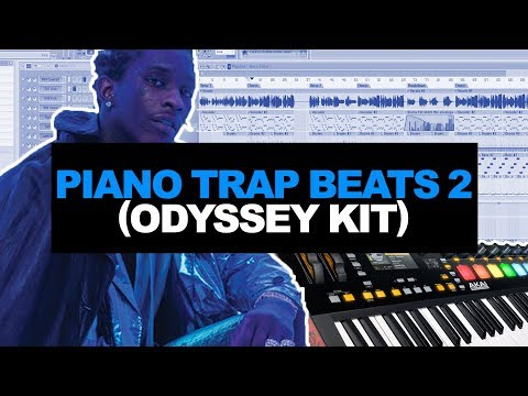 MAKING BEATS WITH MELODIC PIANO SAMPLES (Nick Mira - Odyssey Kit) | FL STUDIO COOKUP