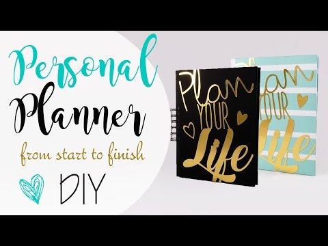 Personal Planner Agenda DIY ♥