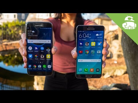Samsung Galaxy S7 Edge vs Galaxy Note 5