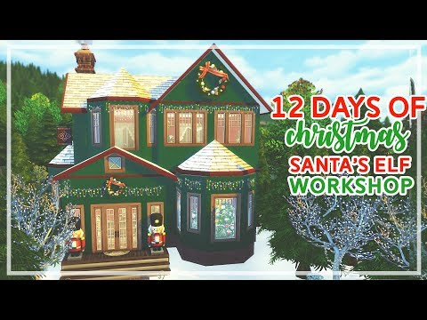 12 Days of Christmas in The Sims 4 🎄🎄 | Santa's Elf Workshop (Day #5)