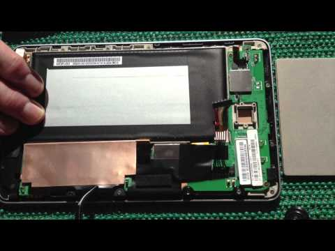 How I Replace A 1st Generation Nexus 7 WiFi Motherboard Part 1