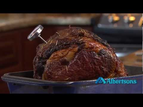 Holiday Entertaining: Easy to Cook Prime Rib Roast.