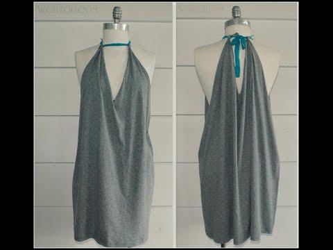 No Sew, Halter Dress, DIY