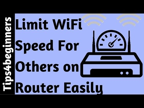 how to limit wifi speed for others on Routers | WiFi Tips Tricks | Router Tricks Special For Novice