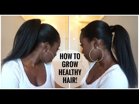 How To Grow LONG HEALTHY RELAXED Hair!