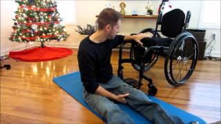 Paraplegic Floor Transfer