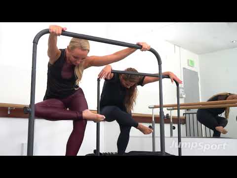 Why Tracey Mallett uses the JumpSport Fitness Trampoline