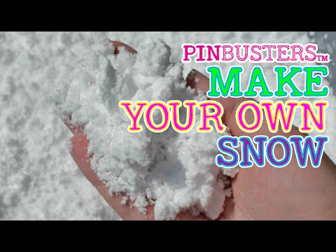 Make Your Own Snow // THIS LOOKS SUPER COOL // SEE IF IT WORKS!