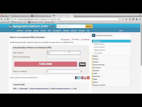 Amazon FBA Arbitrage - How to Calculate Return on Investment (ROI)