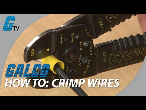 How to Crimp Wires - Basic Tips on Crimping